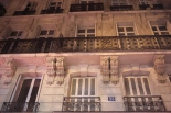 Paris Balcony and Architecture